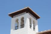 The minaret of the Granada's new mosque